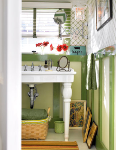 harmonized living: peppermint green